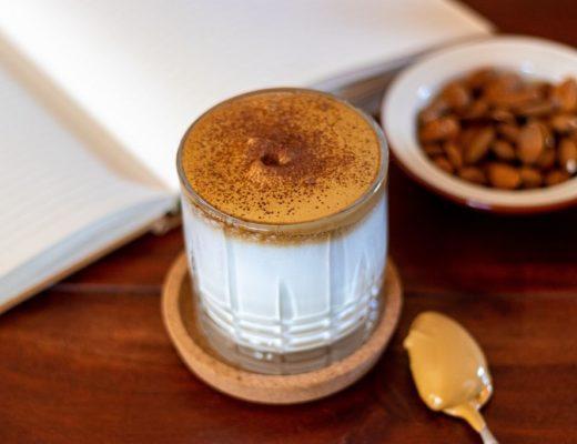 resepi dalgona coffee simple dan sedap
