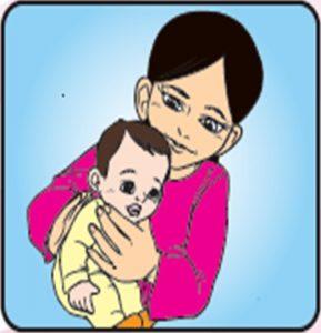 posisi sokong kepala bayi
