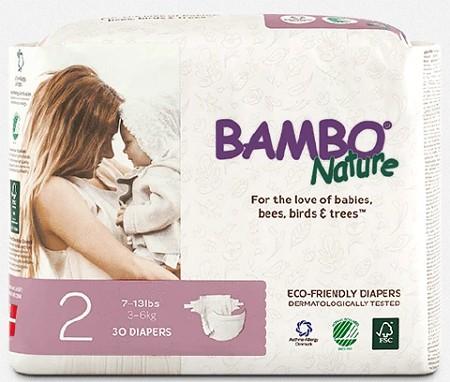 jenama pampers bambo nature